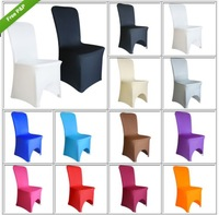 FREE SHIPPING Ultralarge thickening elastic chair cover wedding chair cover spandex back cover banquet chair covers, 22 colors