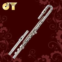 1 PC Silver Plated Nickel Cooper Body flute JYFL-E120S