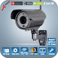 1080P 2.0MP Manual varifocal 2.8-12mm Low illumination Infrared Night Vision HD WiFi Camera Video Surveillance Wireless Cameras
