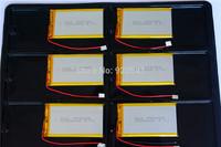 100pcs/Lot 3.7V 2000mAh 455085 Polymer Lithium Li-Po Rechargeable Battery For Bluetooth Earphones