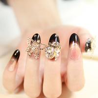 Rive gauche false nails art decoration,woman false nails manicure art ornament display,4.20822.Free shipping