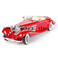 Maisto 1:18 Benz 500K classic alloy car model toy hobby collection Free shipping