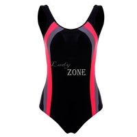 2015 Fashion New Cute Women Swimsuit In One-Pieces Sexy Bathing Suit Sheath Women Swimwear for Women Black B11 CB036268