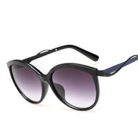 2015 NEW metallic SUNGLASSES WOMEN brand cat eye METALEYES1F Sun lenses spectacles frames cd Shades women UV400 PARTY Goggles