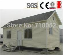 freeshipping custom Light steel trailer slope roof modular house FOB GUANGZHOU PRICE.(China (Mainland))