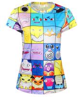 Summer T shirt Women Clothing Fashion O-Neck T-shirt Women Sexy Tops Crop Tops