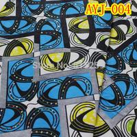 Wonderful design rhinestone ornament batik cotton wax/Afican prints wax 6 yards per piece AYJ-004