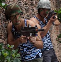 2015 HOT camouflage style design brand new Men's hot vest stripe sexy Sport Vest gym vest breathe free sexy veat 5 COLOUR