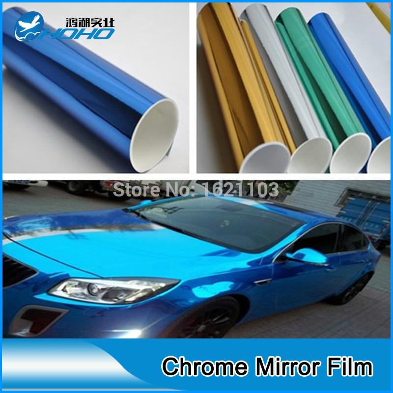 Achetez en gros chrome peinture miroir en ligne des for Effet miroir paint