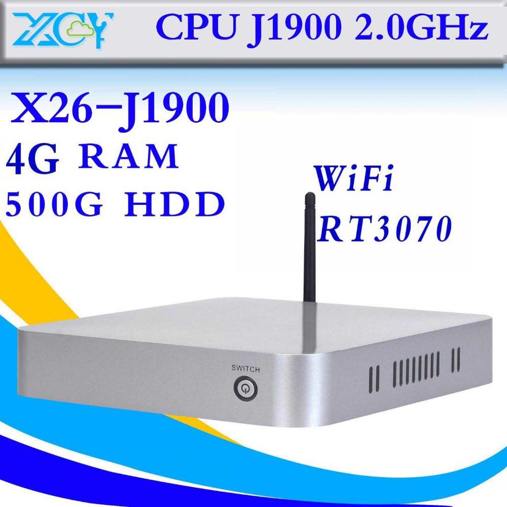 2015 new arrival Intel celeron J1900 desktop pc computer networking cheapest Fanless Design mini pc thin client laptop computer(China (Mainland))