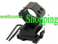 30MM Flip To Side QD Scope Mount For AP ET Magnifier Riflescopes Ring 20mm Rail