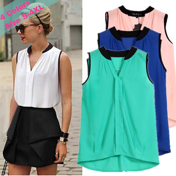 Женские блузки и Рубашки Chiffon blouse Blusas 2015 Blusa Roupas Feminino LJ534QAF женские блузки и рубашки summer blouse blusas femininas 2015 roupas s