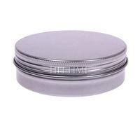 100ML 5pcs Empty Aluminium Nail Art Cream Lip Balm Lip Gloss Cosmetic Containers Bottles #52642