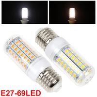 E27 20W 69 x 5730 SMD LED Corn Bulb Warm White / White Light Color Optional