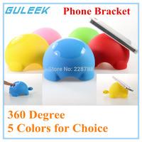 2015 NEW! GULEEK 360 Degree Tortoise Plastic Phone bracket for iphone/Samsung/PC-Five colors optional