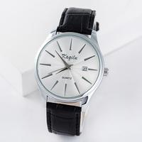 2015 quartz watch men's man casual watch wristwatches leather strap watches HP036