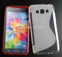 For Samsung Galaxy Grand 3 G7200 s line gel tpu case cover bag,high quality,1pcs/l,free shipping