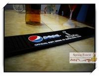 New Pepsi Bar Mats Soft PVC bar Runne/Drip Mat  for Pub bar,Home Decoration-  1pc/lot size 505x 90x10mm BAT-19