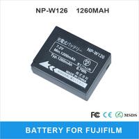 Rechargeable LI-ion NP-W126 1260mAh For FUJIFILM FinePix HS30EXR FinePix HS33EXR X-Pro1 Digital Camera Battery