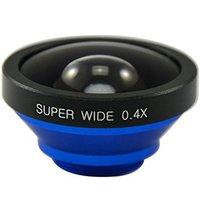 Wholesale Super Wide 0.4X Clip Detachable Camera Lens for Mobile Phones