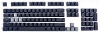 Translucent Keycaps Key Cap Keypress Logitech G710 for Mechanical Gaming Keyboard 104 Layout Black Backlight Backlit