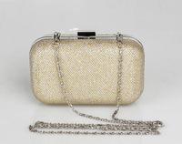 2015 Luxury paillette Evening Bags BlingBling Classic Day Clutch GOLD black Clutches Wallet Purse Party Banquet women bag K08