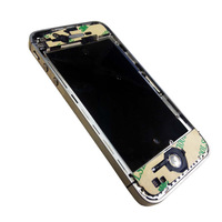 Silver Replacement Chassis Frame Bezel and Inner Middle Plate full Assembly  for iPhone 4S