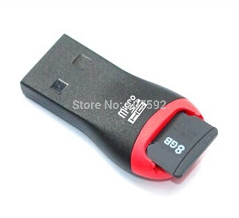 USB TF Card Reader USB 2.0 Micro SD T-Flash TF M2 Memory Card Reader High Speed Adapter for 4gb 8gb 16gb 32gb TF Micro SD Card(China (Mainland))