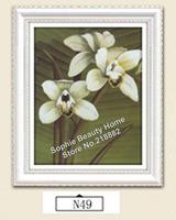 DIY Diamond Painting Flower Cross Stitch Resin Needlework Home Decoration Rhinestone Mosaic Diamond Embroidery Pictures 30x40CM