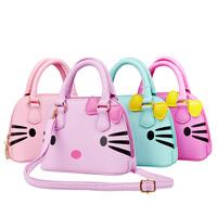 Free Shipping Female child shell bag princess fashion handbag cartoon PU bag child bags messenger bag