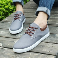 2015 spring New explosions men's casual fashion mixcolor sneakers lace-up comfortable breathable flat-with strap shoes