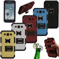 Hot New For Samsung Galaxy S3 i9300 Hybrid Beer Bottle Opener Mobile Phone case Hard Defender 3 Layer 4 Parts Stand Case Cover