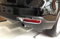 New Chrome Rear Fog Light Lamp Cover Trim For Subaru Forester 2013 2014