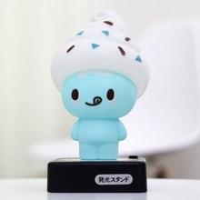 Ice cream eye lamp cartoon battery computer dual lamp usb at home night light gift(China (Mainland))