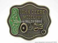 "Fashion Deere , Model ""B""  Belt Buckle , Bronze color"