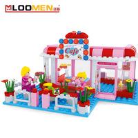 Building blocks to children educational DIY blocks of parent-child interaction girls toys