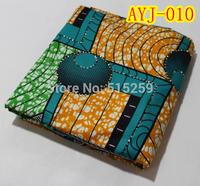 2015 New pattern stone wax printed cotton fabric african wax prints fabric 6 yards per lot AYJ-010