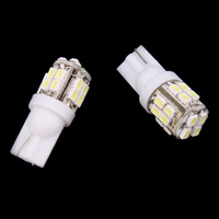 2x T10 1206 20SMD Xenon White LED Car Wedge Signal Light lamp bulb 194 reading lamps 168 W5W 147 Car interior Lights