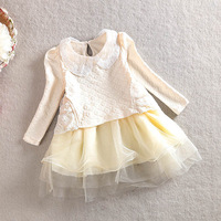 girls summer dresses baby 2015 girl dress children cotton fashion princess clothing baby party dress YF-102