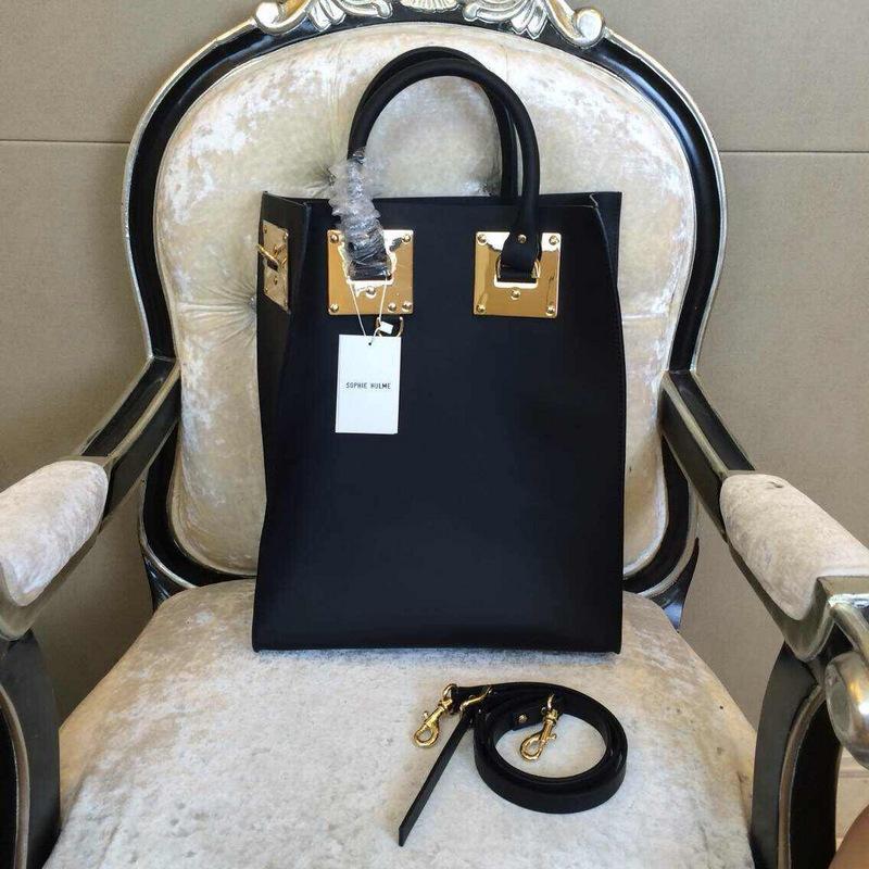 New listing women fashion design genuine prune saddle leather hulme tote bag(China (Mainland))