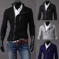 2015  Fashion Men's Jacket men casual sport outwear Men's Dust Coat Hoodies Clothes sweater/overcoat/outwear, 4colors M-XXLPPY13