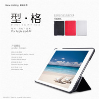 Original Nillkin Stylish Series Flip Leather Case For For ipad air 5 With Wake Up Function,10PC/LOT+Spackage  DHL Free shipping
