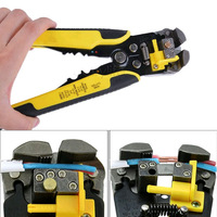 Multifunctional Automatic Cable Wire Stripper Pliers Self Adjusting Crimper Terminal Cutter Tool Free Shipping