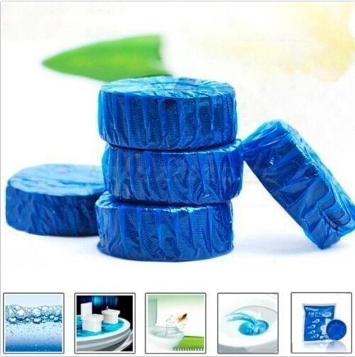 8x Blue Bubble Automatic Toilet Bowl Antibacterial Cleaning Tabs Cleaner/Cleaner Fragrance cleaners Tabs Clean Deodorizer 1pc^(China (Mainland))