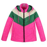 Hot Sale Clothing Zipper Short Style Fashion Women Warm Slim Coat Spring New Thin Down Parkas Coat Lady Jacket Free Shipping 104