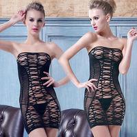 Women's Sexy Lingerie Lace Babydoll Dress Underwear Sleepwear Chemise +G-String