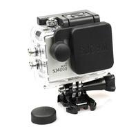 Protective Camera Lens Cap Cover + Housing Case Cover set for SJCam SJ4000 WiFi