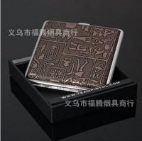 athin automatic elastic cover cigarette case ancient Egyptian Designs 20 cigarettes cigarette boutique for men gift spot