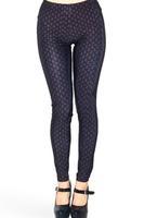 HOT Brand Design Sexy 2015 Spring Fashion Fitness Leggings Space Pants ACE BLACK LEGGINGS For Women OEM S106-635