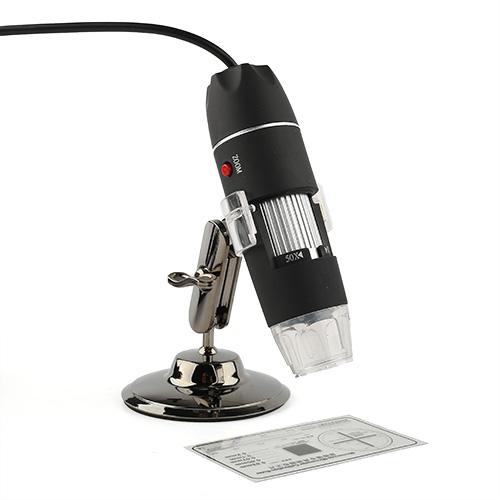 Portable USB Digital 50 500X 2 0 MP Microscope Endoscope Magnifier Camera 8 LED
